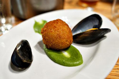 brandade / zucchini / mussels