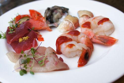 Scarpetta Brunch Plate - Seafood