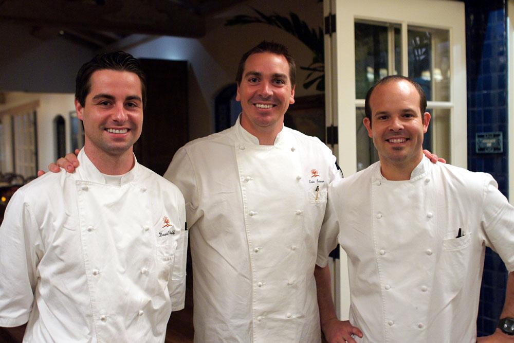 David Volk, Eric Bauer, Aaron Martinez