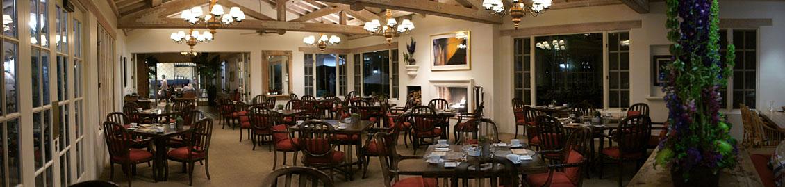 Rancho Valencia Restaurant Interior