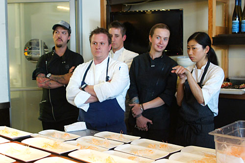 Chefs look bored