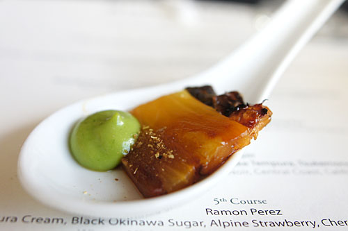 Caramelized Eel, Sansho Pepper