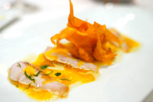 seabass tiradito