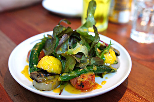 grilled vegetables salad