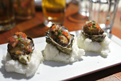 oysters a la chalaca