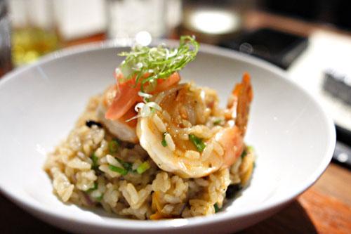 arroz chaufa de mariscos