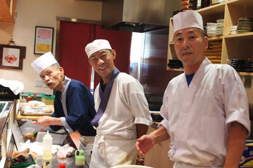Ango-san, Ken-san, Goro-san
