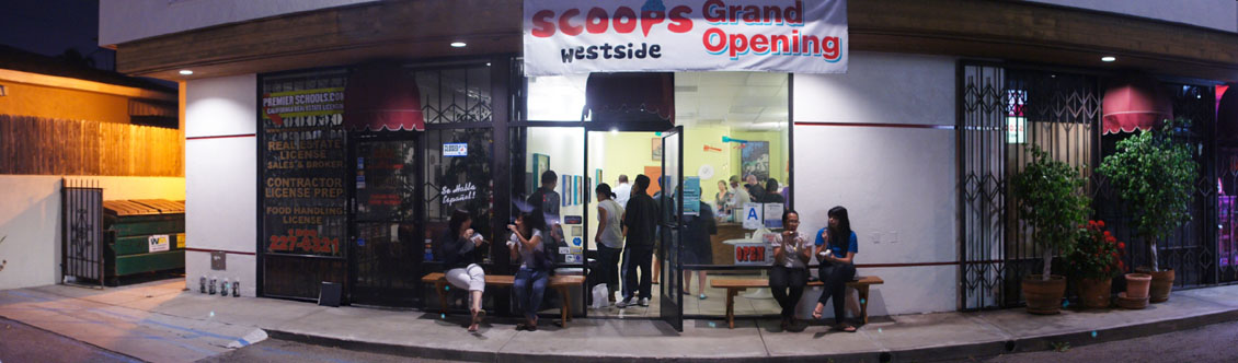 Scoops Westside Exterior