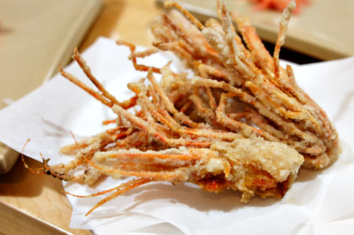 Deep Fried Shrimp Heads