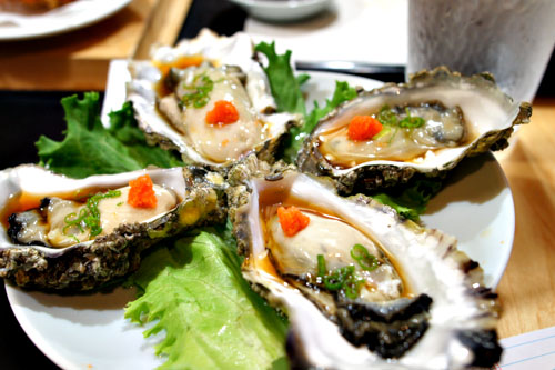 Oysters on Half Shell