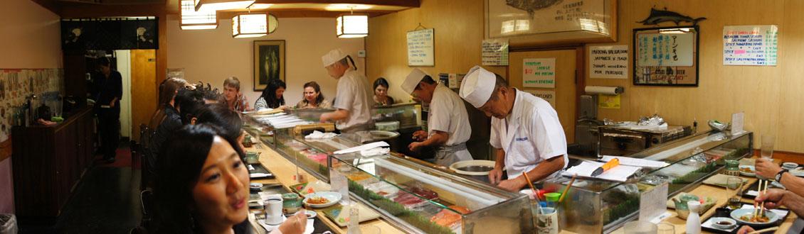 Hama Sushi Interior