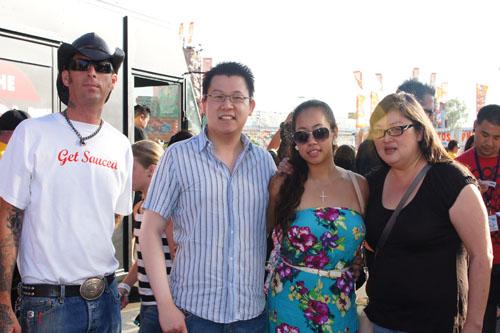 Phil, Kevin, Marian, Anita