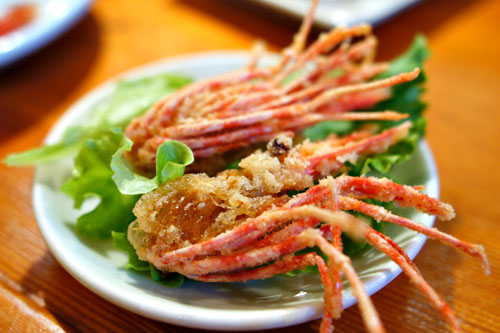 Deep-Fried Sweet Shrimp Heads