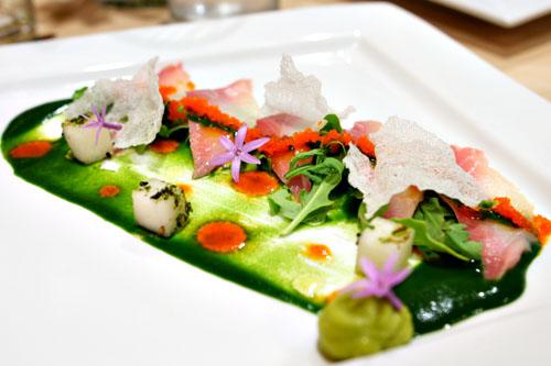 Yellowtail Sashimi 'Hwe Dup Bap'