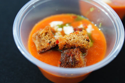 Chilled Tomato Gazpacho