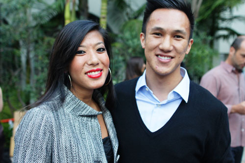 Victor Nguyen and Girlfriend