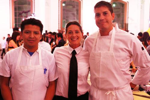 Gerardo Nuñez, Kelly McAuliffe, Charlie Skidmore