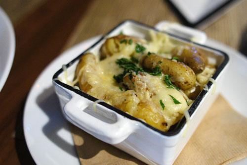 duck fat fingerling potatoes