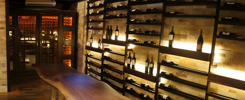 The Strand House Wine Cellar