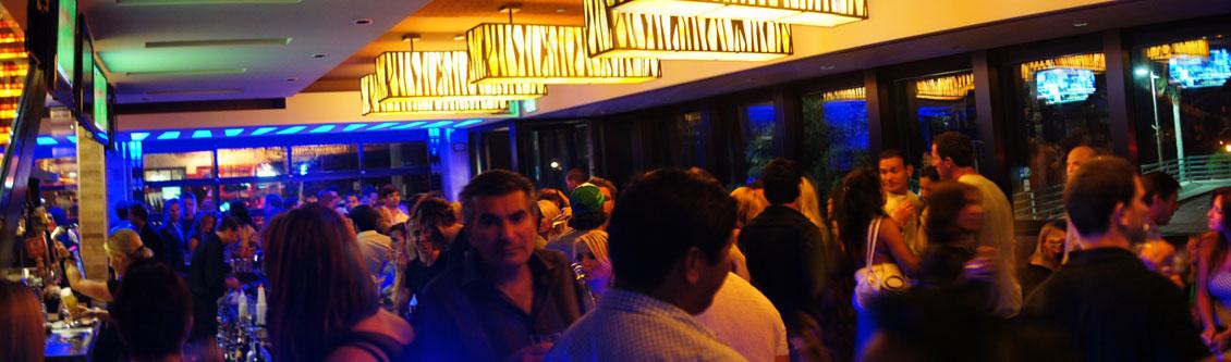 The Strand House Bar Scene