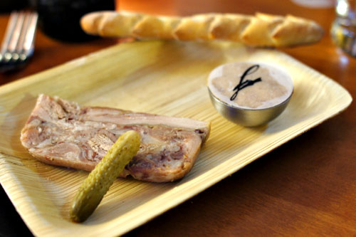 Duo of Charcuterie: Pork Rillettes and Head Cheese