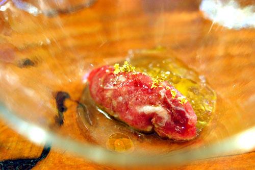Cru (bluefin tuna tartar)