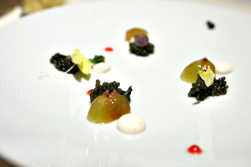 Caviar, Grape, Sesame