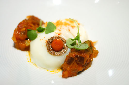 62° Egg, Ratatouille
