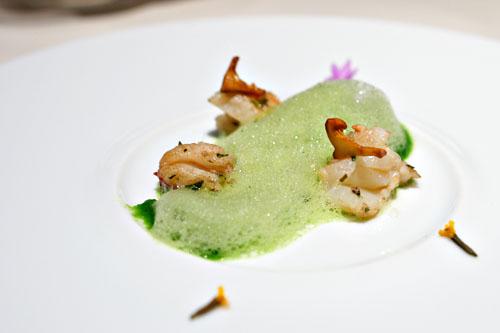 Tarragon Lobster, Yu Choy