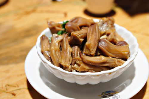 Soy Marinated Duck Tongue