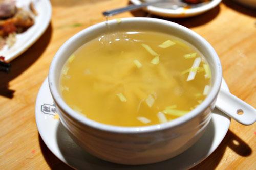 Shark Fin Large Dumpling Soup
