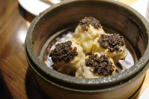 Black Truffle Mushroom Siu Mai