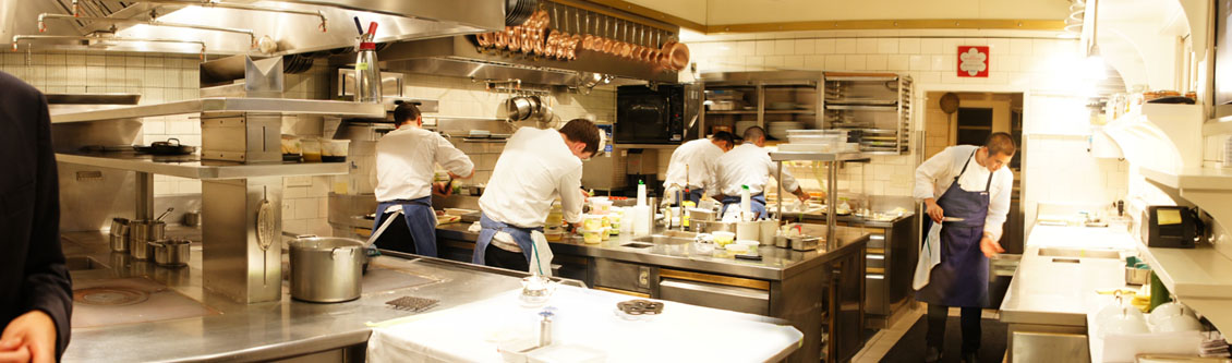 French Laundry Kitchen
