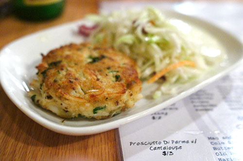 Griddled Crabcake