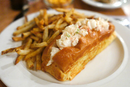 Lobster Roll w/ Old Bay Fries