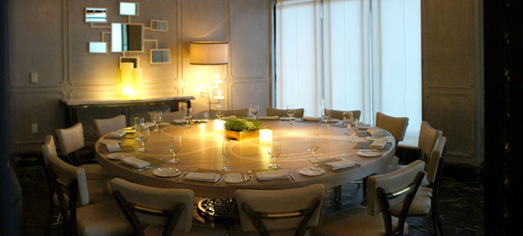 Gordon Ramsay at The London Private Dining Room