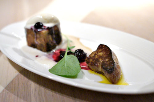Moulard Duck Foie Gras and French Toast