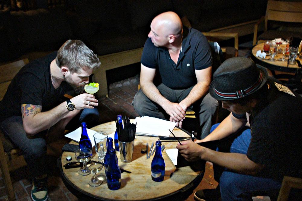 David Kaplan, Matthew Biancaniello, Marcos Tello