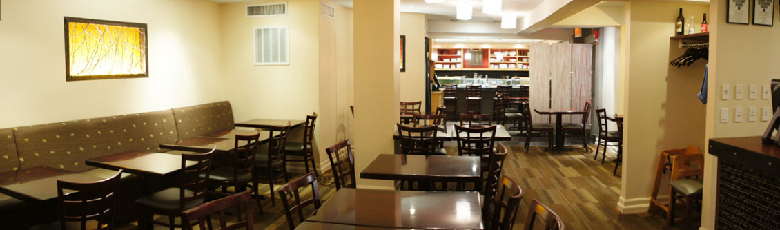 Kaz Sushi Bistro Interior