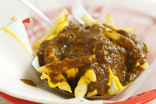 Chili-Cheese Fries (The Works)