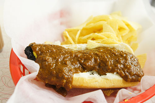 Ben's Original Chili Half-Smoke