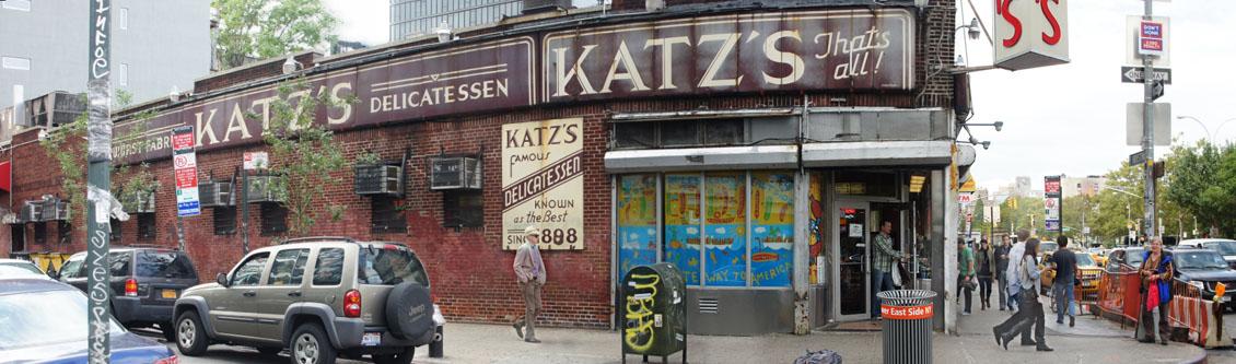 Katz's Deli Exterior