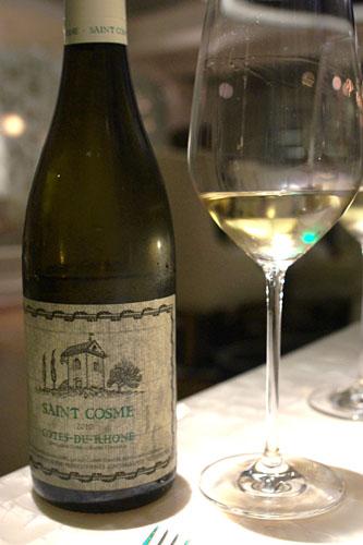 2010 Saint-Cosme Côtes du Rhône Blanc