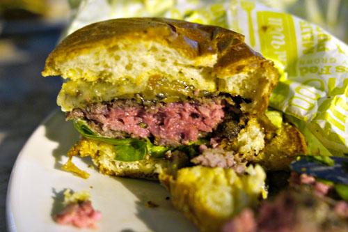 Short Order Burger Cutaway