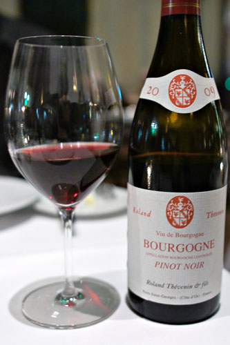Burgundy, Roland Thévenin, Vin de Bourgogne, FR 2009