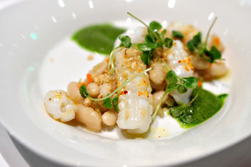 Pan Roasted Baby Squid