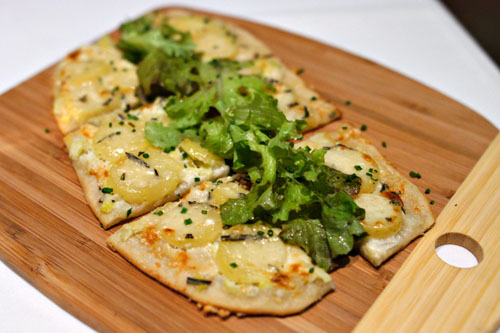 'Camille's' Potato and Rosemary Flat Tart