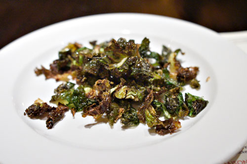 Crispy Brussels Sprout Leaves