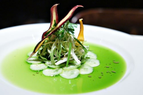 Cucumber Carpaccio