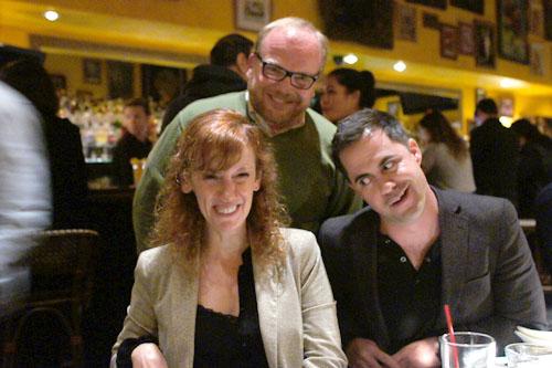 Florence Charmasson, Joe Petricca, C.M. Schwartzy